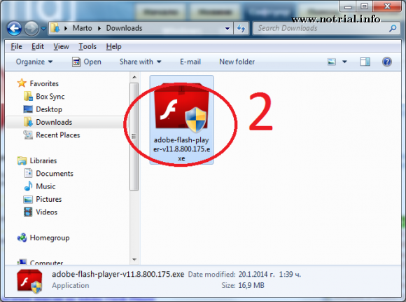 Adobe flash player 14 for windows xp