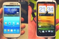 Мобилни телефони на Samsung и HTC