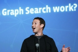 Марк Цукерберг говори за Facebook graph search