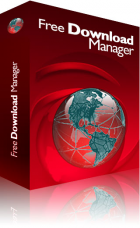 Free Download Manager (IDM) logo