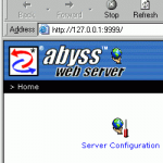 Abyss Web  Server X1 logo